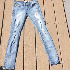 Indigo Rein ripped skinny jeans - size 5
